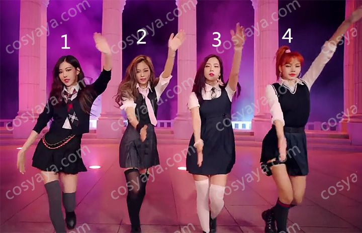 BLACKPINK AS IF IT'S YOUR LAST演出服激案