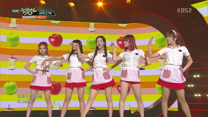 Kpop Fiestar 舞台演出衣装