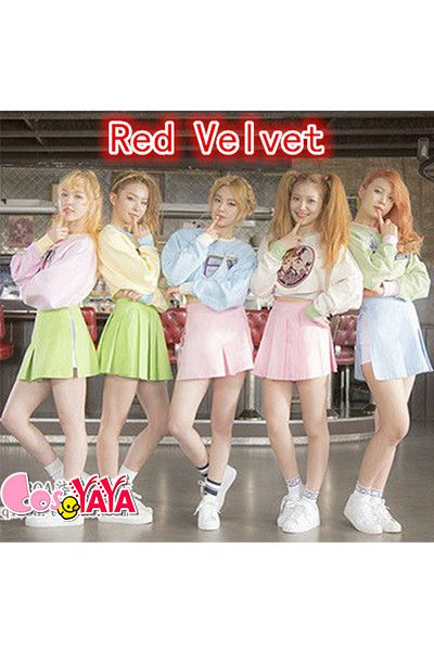Red Velvet  Ice Cream CakeIrene演出衣装