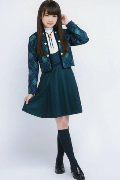 乃木坂46 10th 何度目の青空か? 公式写真制服 グリーン ワンピース 乃木坂 ベストスカート